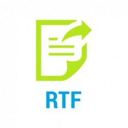 Informacja o zawarciu umowy z biurem podatkowym na prowadzenie podatkowej księgi...
